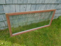 window: one used single frame thermopane  23 wide X 50.5 long