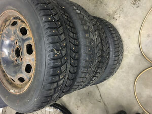 toyota corolla rims and tires 195/65/15