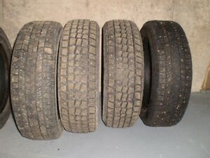 5 studded winter tires