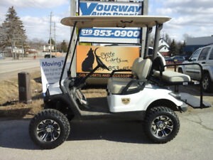 2012 Yamaha Drive Gas Engine Golf Cart