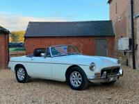 1972 MGB 3.5 V8 Roadster. 5 Speed Gearbox. Full Leather. Mohair Hood.
