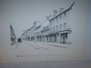 CENTENNIAL PEN & INK DRAWINGS OF OLD HALIFAX