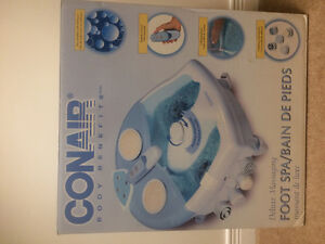 conair deluxe foot spa remote control and touch pad