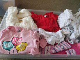 Baby girls Clothes bundle new/barely worn
