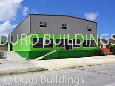 Durobeam Steel 40x66x14 Metal Garage Clear Span I-beam Building Workshop Direct