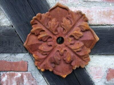 Maueranker, Pfettenanker, Wand Ornament, Wandanker, Sparrenanker, antik Blüte
