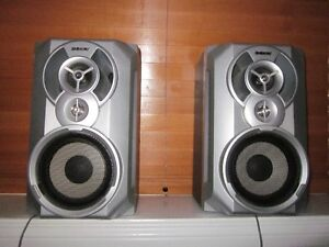 Sony bookcase speakers SS-RG55