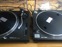 Technics 1210 mk2 immaculate with dust covers