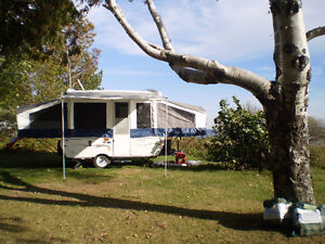 Tent trailer, with add a room