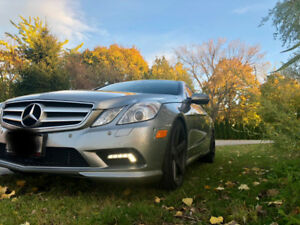 2010 Mercedes-Benz E-Class E 550 Coupe (2 door) Luxury Speed