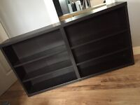 Black/Brown Shelf Unit