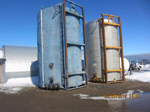 Insulated 400 bbl tanks