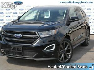 2018 Ford Edge Sport AWD  - Leather Seats -  Bluetooth