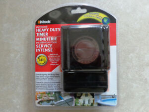 Heavy Duty Outdoor Electrical Timer