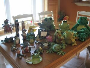 collection de grenouilles