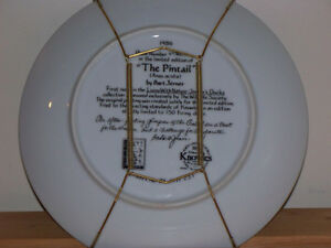 """""""KNOWLES"""" CHINA """"THE PINTAIL"""" COLLECTOR PLATE Kawartha Lakes Peterborough Area image 2"""