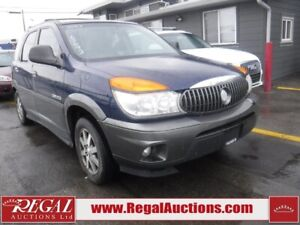2003 Buick RENDEZVOUS  4D UTILITY 4WD