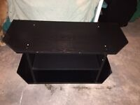 Black tv stand for sale.