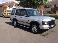 2003 Land Rover td5 7 seater auto sport