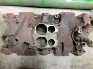 Small block Chev 4 barrel intake manifold