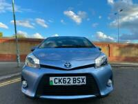 2012 Toyota Yaris 1.5 VVT-i Hybrid T4 5dr CVT HATCHBACK Petrol/Electric Hybrid A