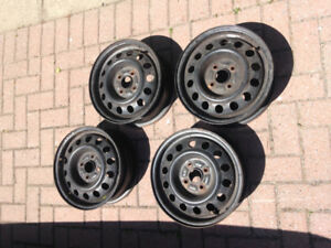 Winter Mags for Toyota Corolla -14 inch- 4 screws-good condition
