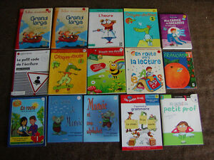 FRENCH WORBOOKS FOR CHILDREN IN GRADE 1 AND GRADE 2