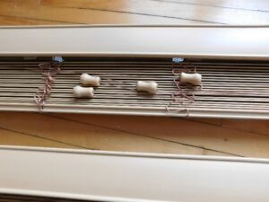 2 Faux Wood Blinds - High Quality
