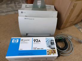 HP Laser Printer Laserjet 1100 with brand new cartridge