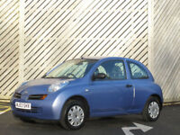2003/53 NISSAN MICRA 1.2 S AUTOMATIC 3 DOOR HATCH - ONLY 50000 MILES FROM NEW !!