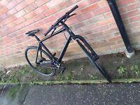 Lefty Cannondale badboy Si M single speed disc brake hybrid road bike