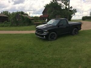 2015 Dodge Power Ram 1500 Pickup Truck - Black Out Edition