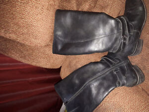**Leather boots and fall booties**