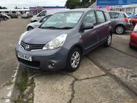 2009/09 Nissan Note in Grey