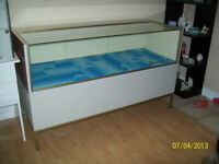STORE DISPLAY GLASS SHOWCASE COUNTER;  Sale/trade