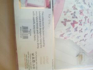 Single Duvet Cover (Pink & White) - brand NEW West Island Greater Montréal image 5