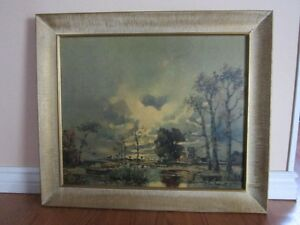 Morning In The Lowlands by A. Herbe #328 C-4 Print Kitchener / Waterloo Kitchener Area image 1
