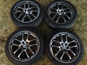 Infiniti G35 Forged Ray Rims w/ new tires