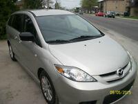 2007 MAZDA5 AUTOMATIC 104000KM 4CYL 2.3L A/C  NO RUST SOLD 5399$