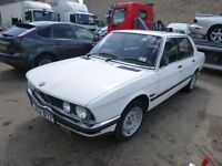 1986 BMW 528I SE 2788cc Petrol Manual SALOON