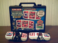 Coleco Head to Head plug & play TV game + carrying case used