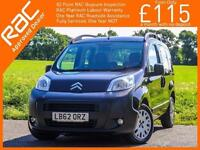 2013 Citroen Nemo 1.3 HDI Turbo Diesel Auto MPV Just 2 Owners Only 62,000 Miles