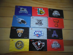Selected Tim Horton's Hockey Gift Cards