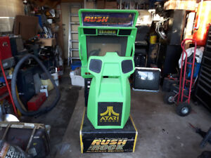 Arcade Atari Rush the Rock Project Racing Cabinet