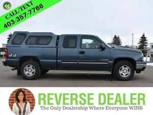 2006 Chevrolet Silverado 1500 0  4x4, cap included and tow packa