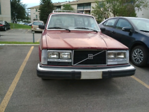 1984 Volvo 245 Wagon Manual Transmission