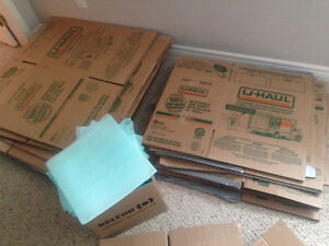 U-Haul Moving boxes for sale