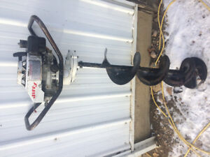 """10"""" Jiffy Ice Auger.  SOLD!"""