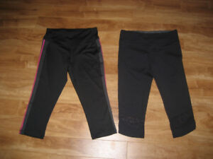 Workout Capris, Size Small