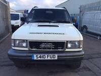 S reg Isuzu Trooper 3.1TD Duty commercial model nice drive sold with new mot